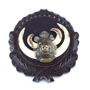 Ornament cap mistret bronz